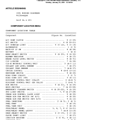 Vw Golf Wiring Diagram Architectural Program And 2 Gl Gti 1991 Diagrams Service Manual Download 1st Page