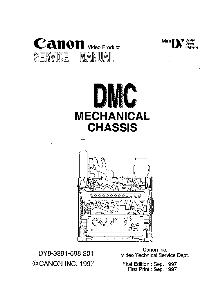 CANON MV750I-MV730I-MV700-MV690 Service Manual download