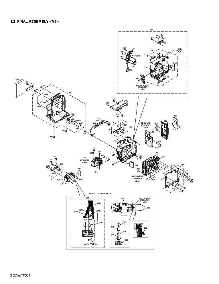 JVC GR-DX67EK DX77ER-EX-EY-EZ DX78EX DX97EK-EX-EY-EZ PARTS