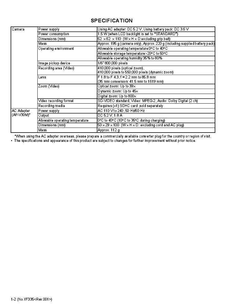 JVC GZ-MS110BEK GZ-MS110BEU Service Manual download