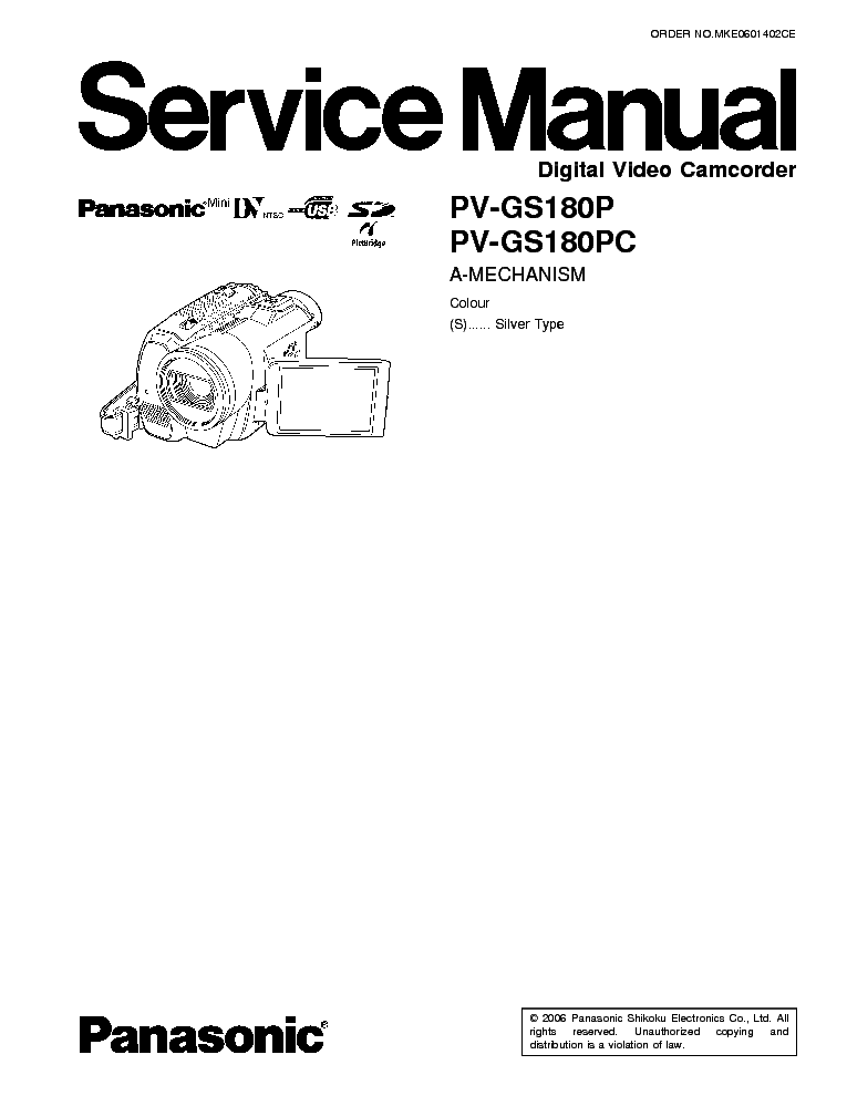 PANASONIC HDC-SD900 TM900 SM Service Manual download