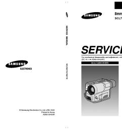 samsung scl700 710 750 770 sm service manual 1st page  [ 1489 x 1053 Pixel ]