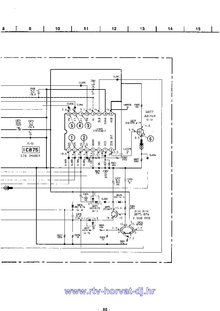 SONY CCD-TR303E Service Manual download, schematics