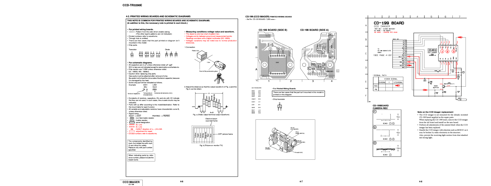 hight resolution of sony ccd tr3200 schematics sch service manual 2nd page