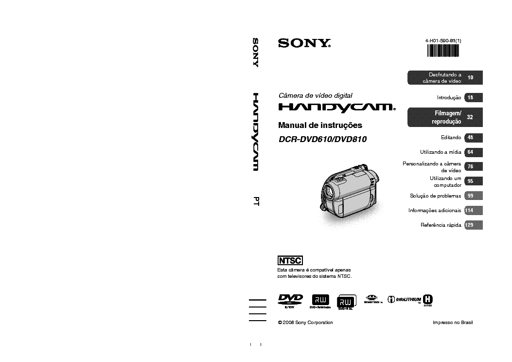 SONY DCR-DVD610 PT Service Manual download, schematics
