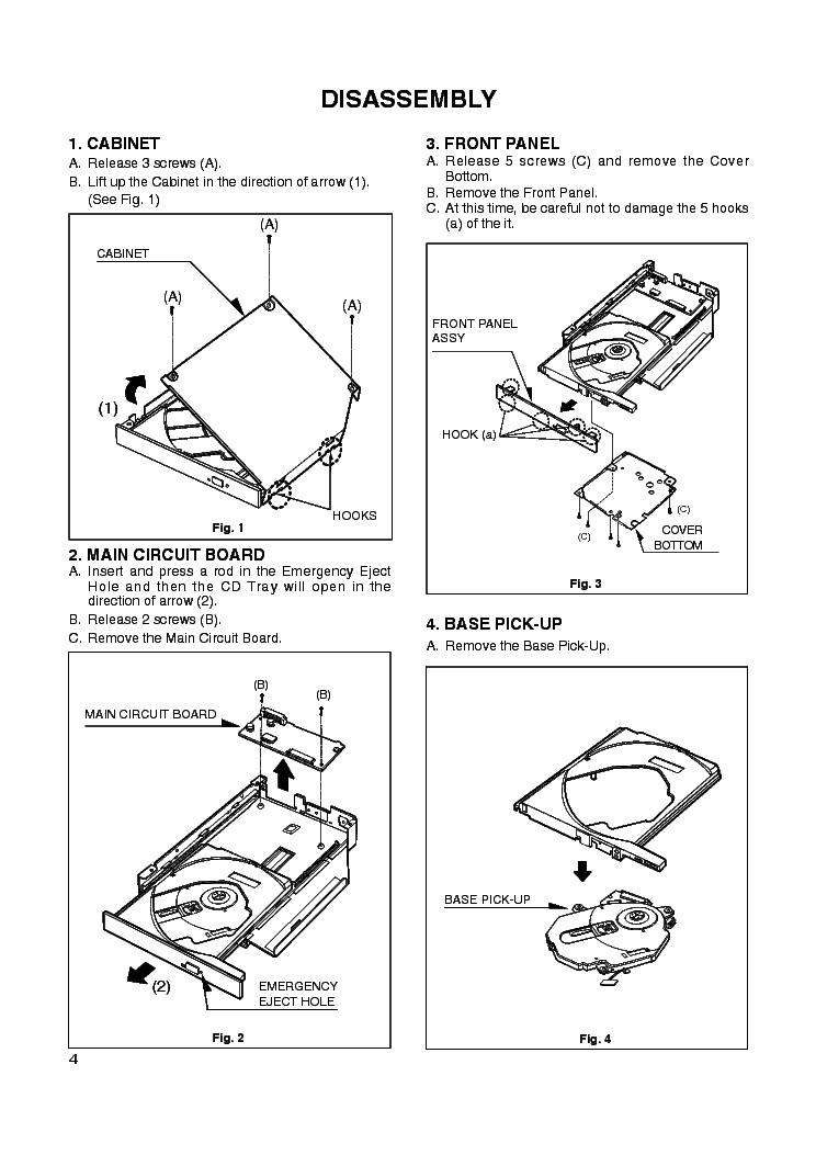 LG CRD-8245B Service Manual download, schematics, eeprom