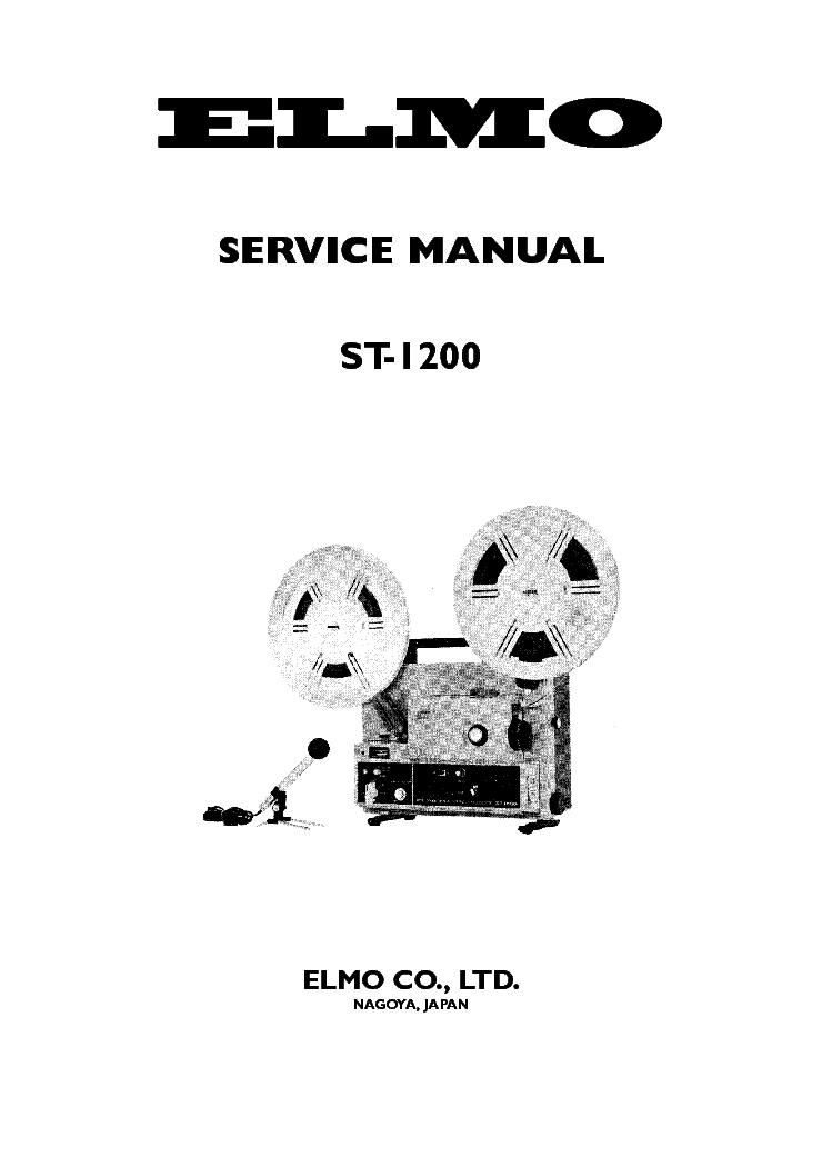 ELMO CX-550 XENON Service Manual download, schematics