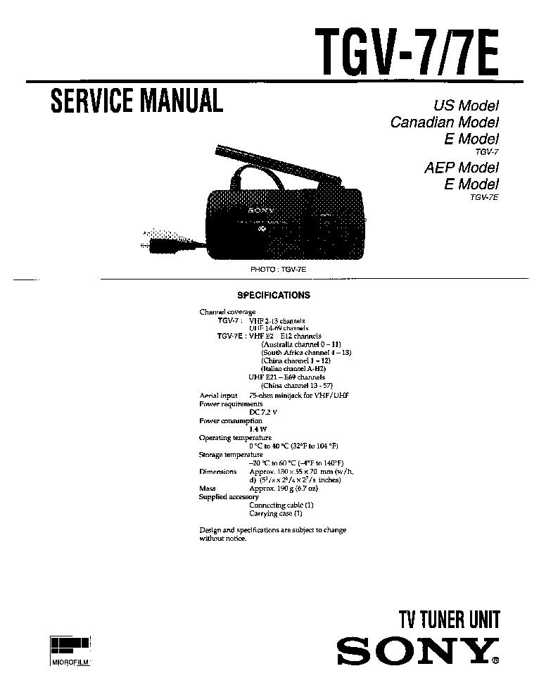 SONY KP-EF41ME3-MN3-SN3 KP-48MN3-SN3 SM Service Manual