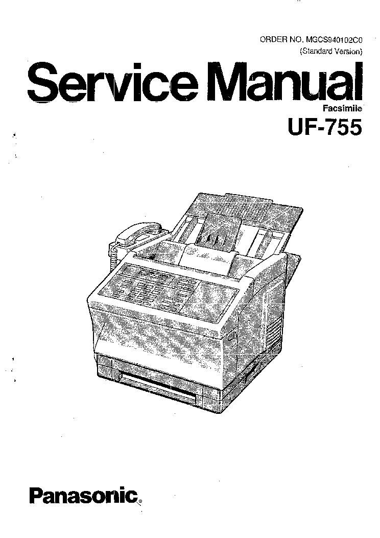 PANASONIC KX-TDA0174 Service Manual download, schematics