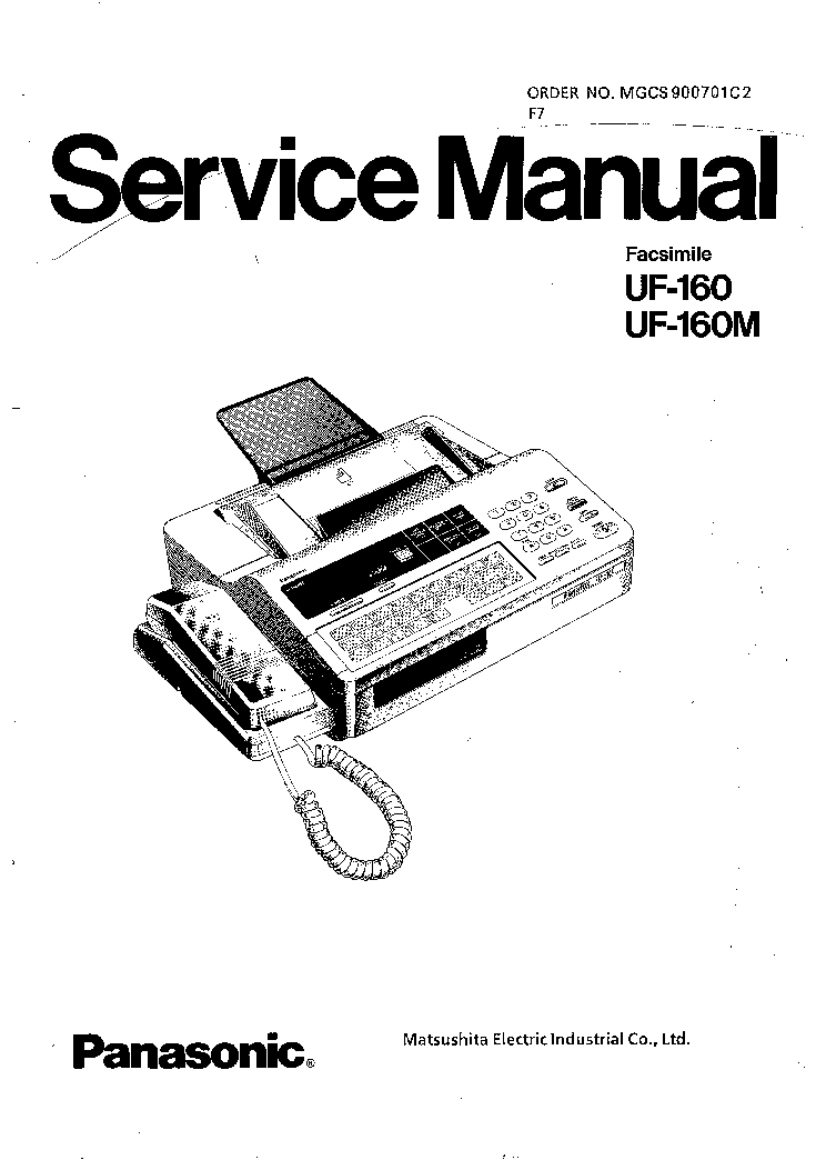 PANASONIC CF-VCBTB3W BATTERY CHARGER Service Manual free