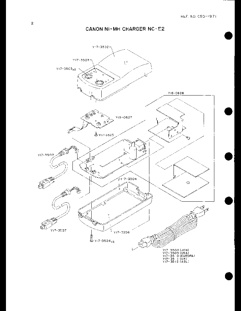 CANON ANGLE FINDER C PARTS Service Manual download