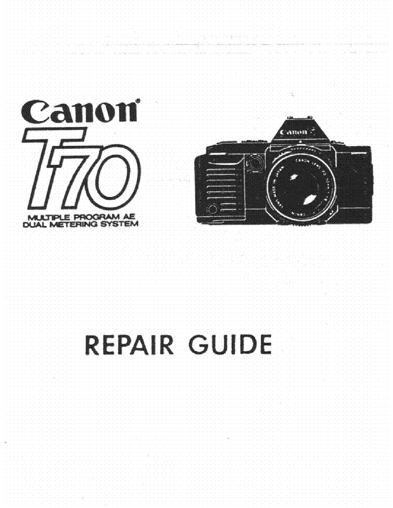 CANON SPEEDLITE 550EX PARTS Service Manual download