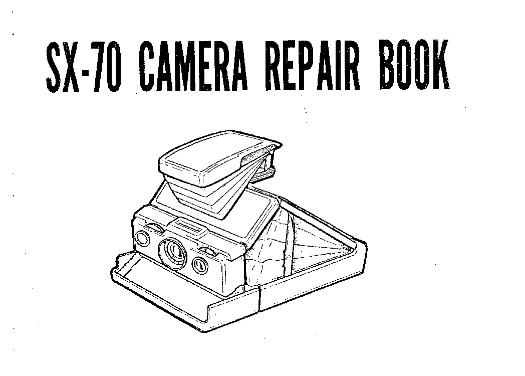 POLAROID SX-70 CAMERA Service Manual download, schematics