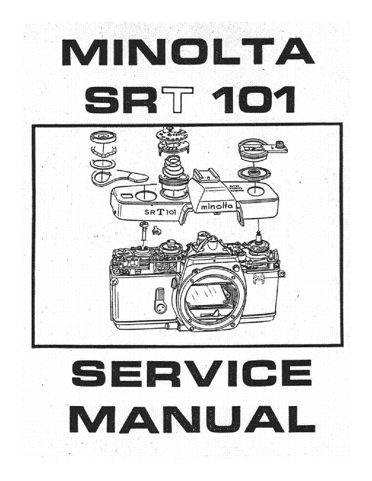 MINOLTA XE XE-1 XE-7 Service Manual download, schematics