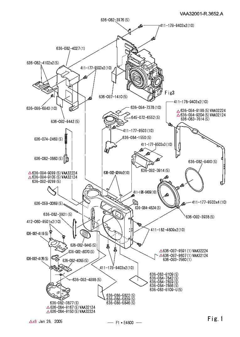 NIKON COOLPIX 4600 PARTS Service Manual download