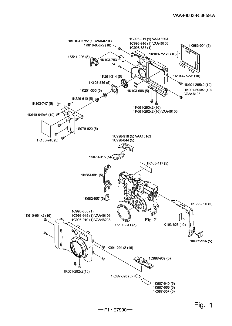 NIKON COOLPIX 7900 PARTS Service Manual download