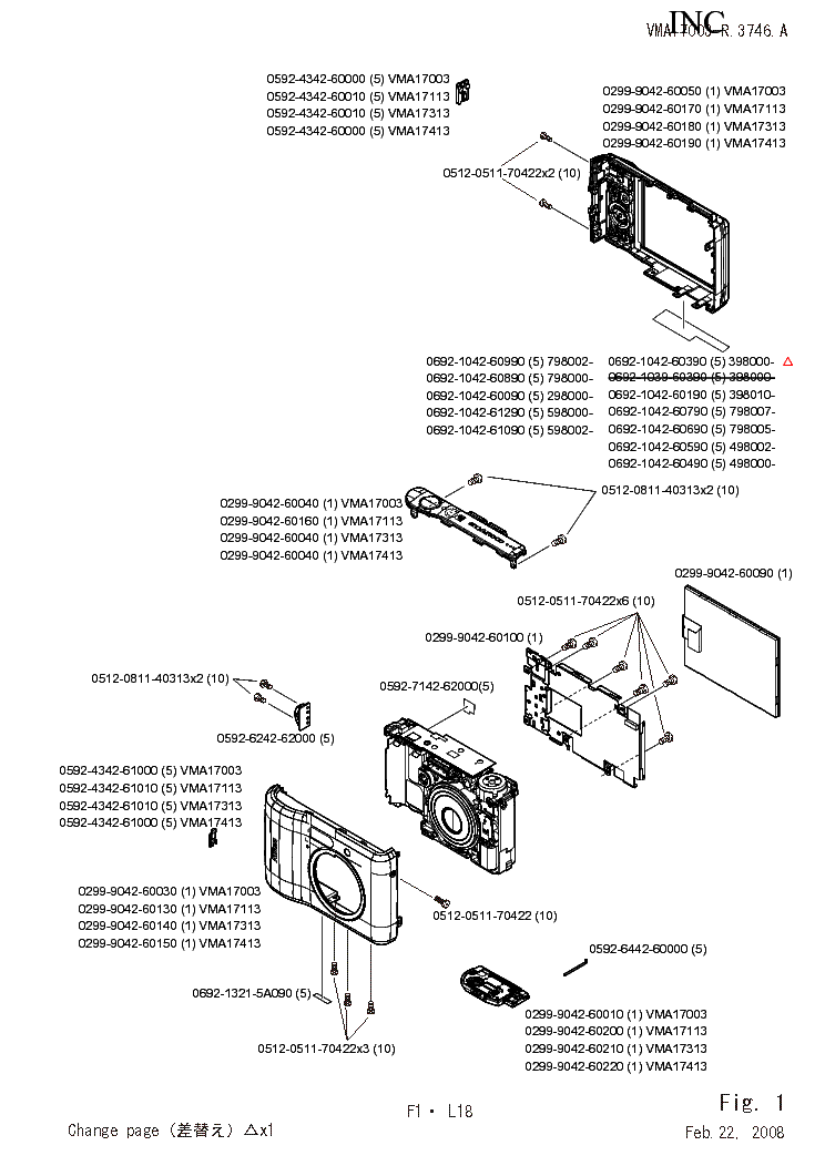 NIKON COOLPIX L18 PARTS Service Manual download