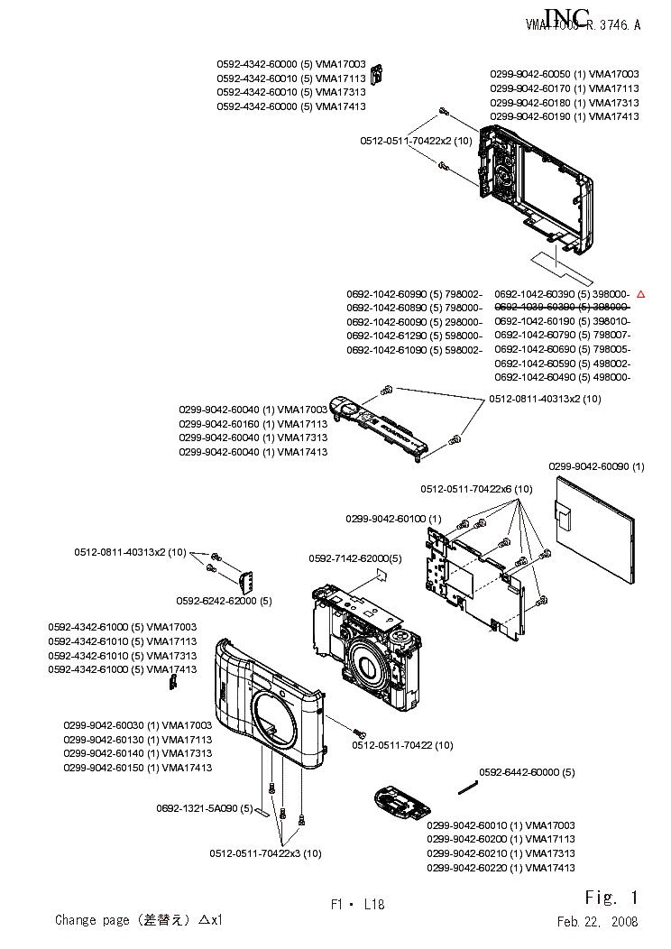 NIKON COOLPIX L18 PARTS Service Manual download