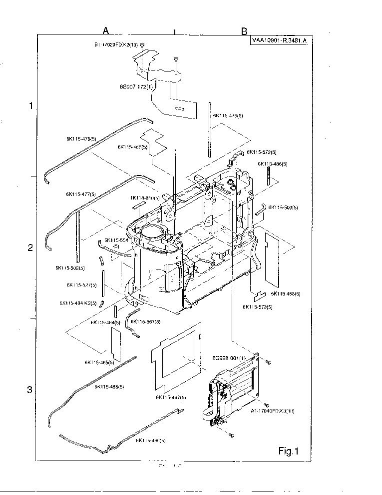 NIKON D1 SM Service Manual download, schematics, eeprom