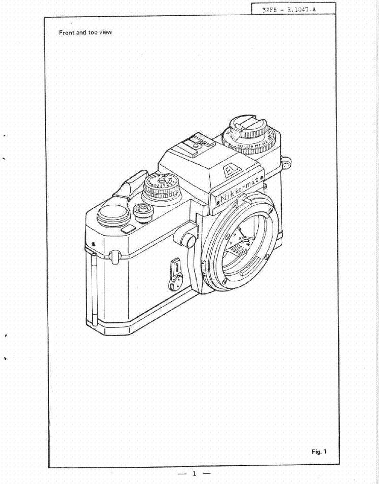 NIKON EL REPAIR MANUAL Service Manual download, schematics
