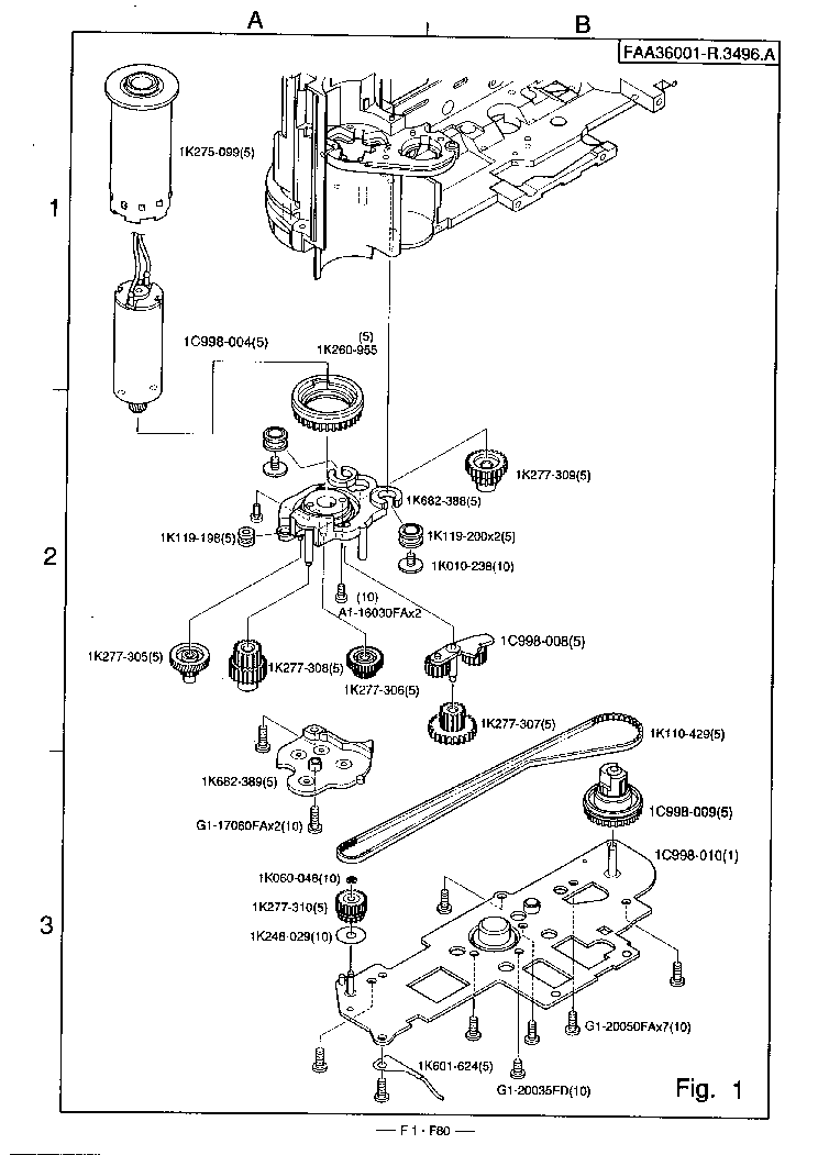 NIKON F80 Service Manual download, schematics, eeprom