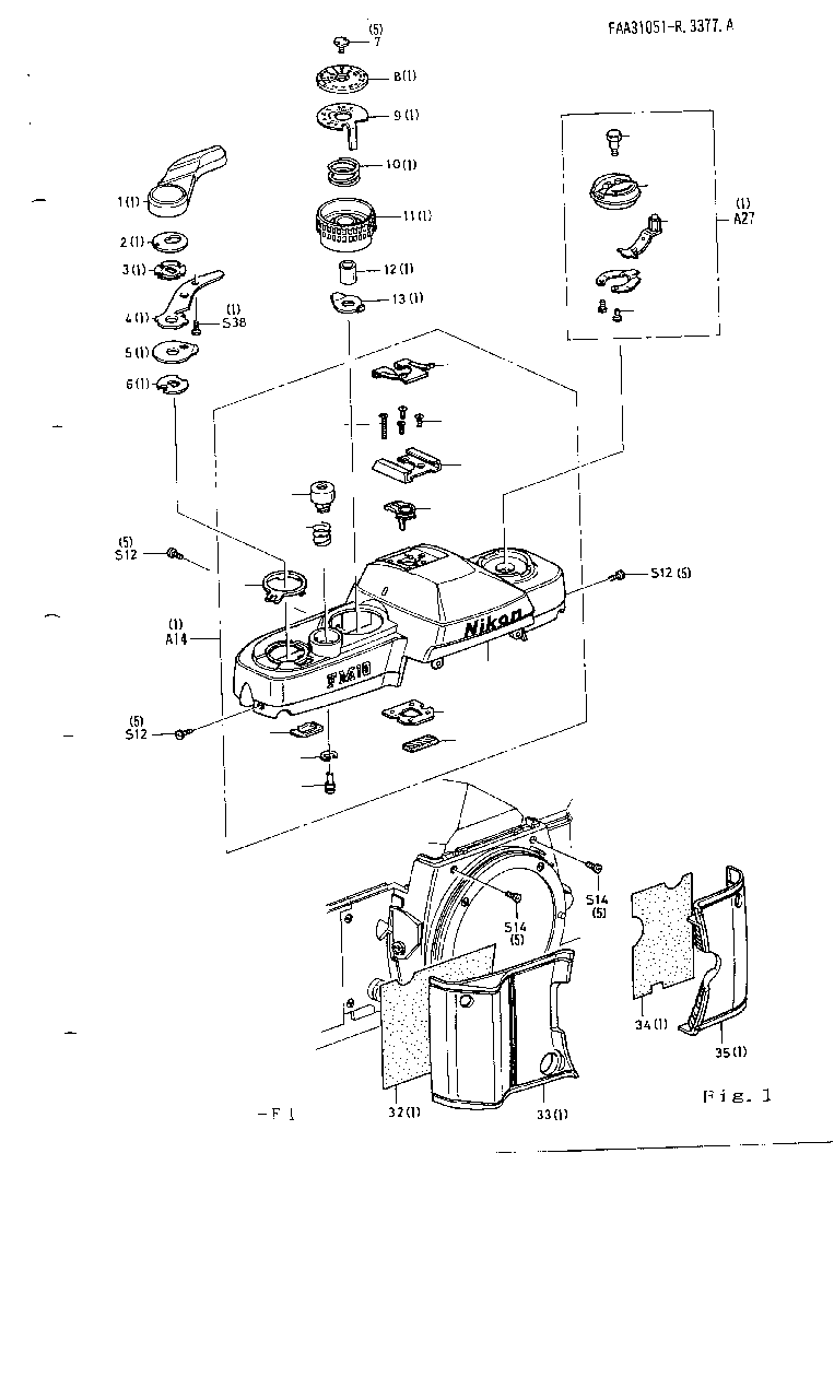 NIKON FM10 REPAIR Service Manual download, schematics