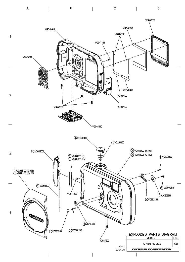 OLYMPUS T20 FLASH SM Service Manual free download