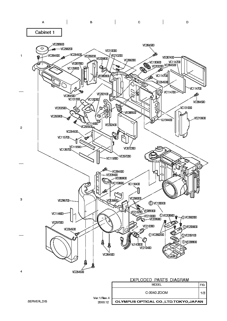 OLYMPUS OM-G OM-20 Service Manual download, schematics