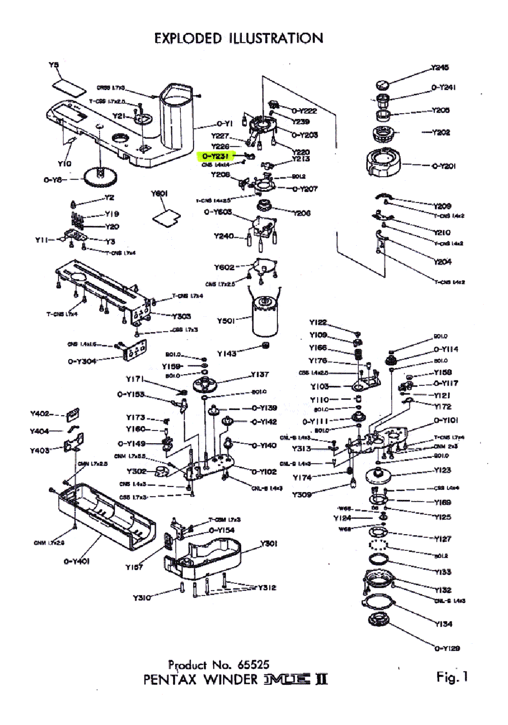 PENTAX P3 P30 Service Manual download, schematics, eeprom