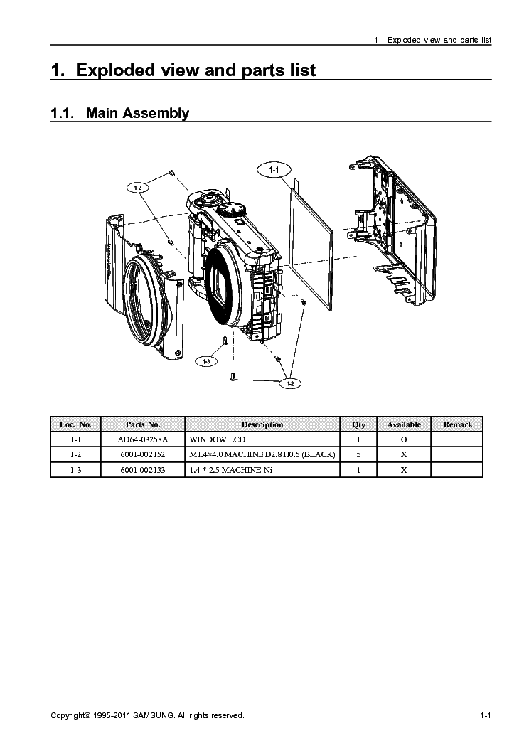 SAMSUNG ECWB700ZBPBE3 Service Manual download, schematics