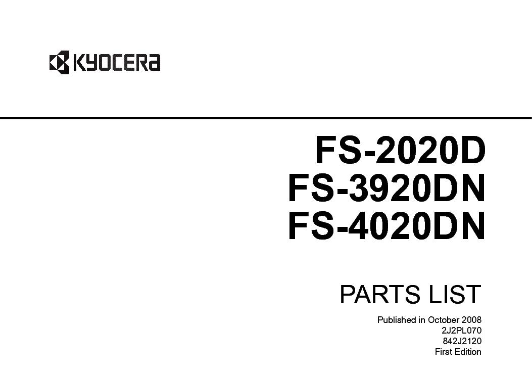 KYOCERA TASKALFA 250CI 300CI 400CI 500CI Service Manual