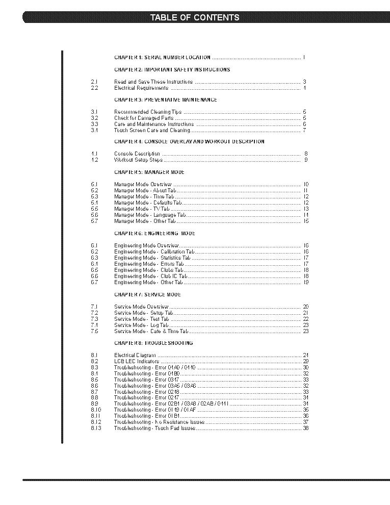 MATRIX U7XE-05 BIKE SM Service Manual download, schematics