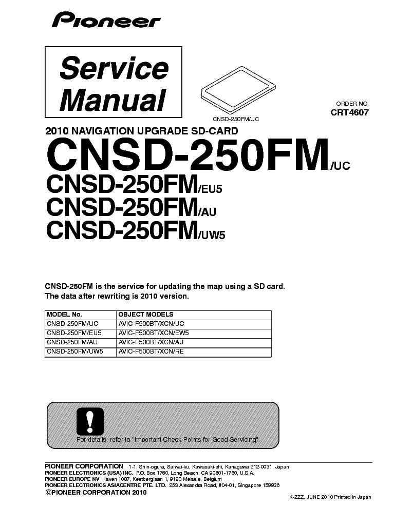 PIONEER PDP-R06G R06C MEDIA RECEIVER SM Service Manual