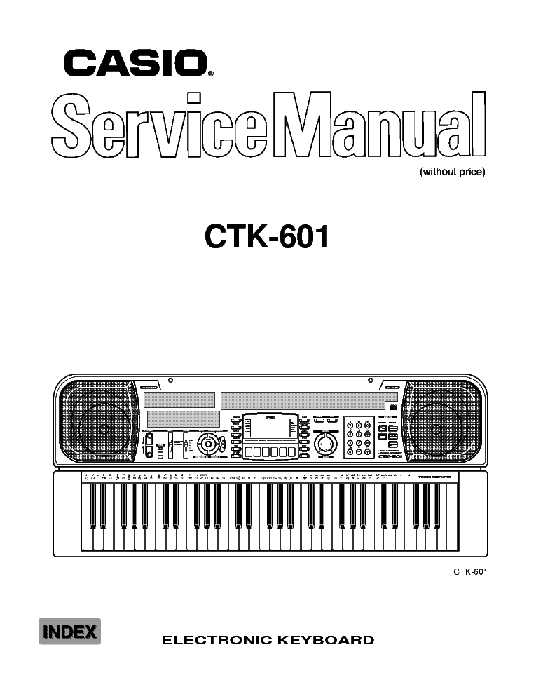 CASIO SA-5 Service Manual free download, schematics