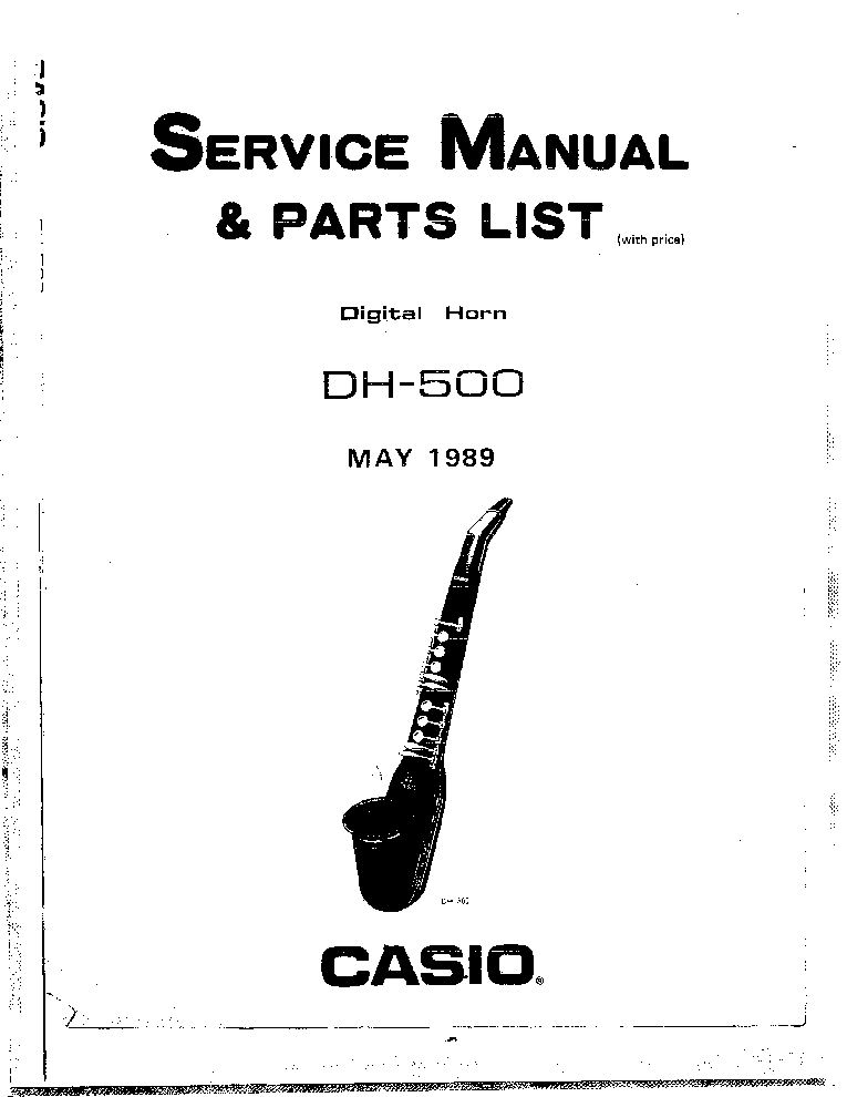 CASIO AP60R Service Manual free download, schematics
