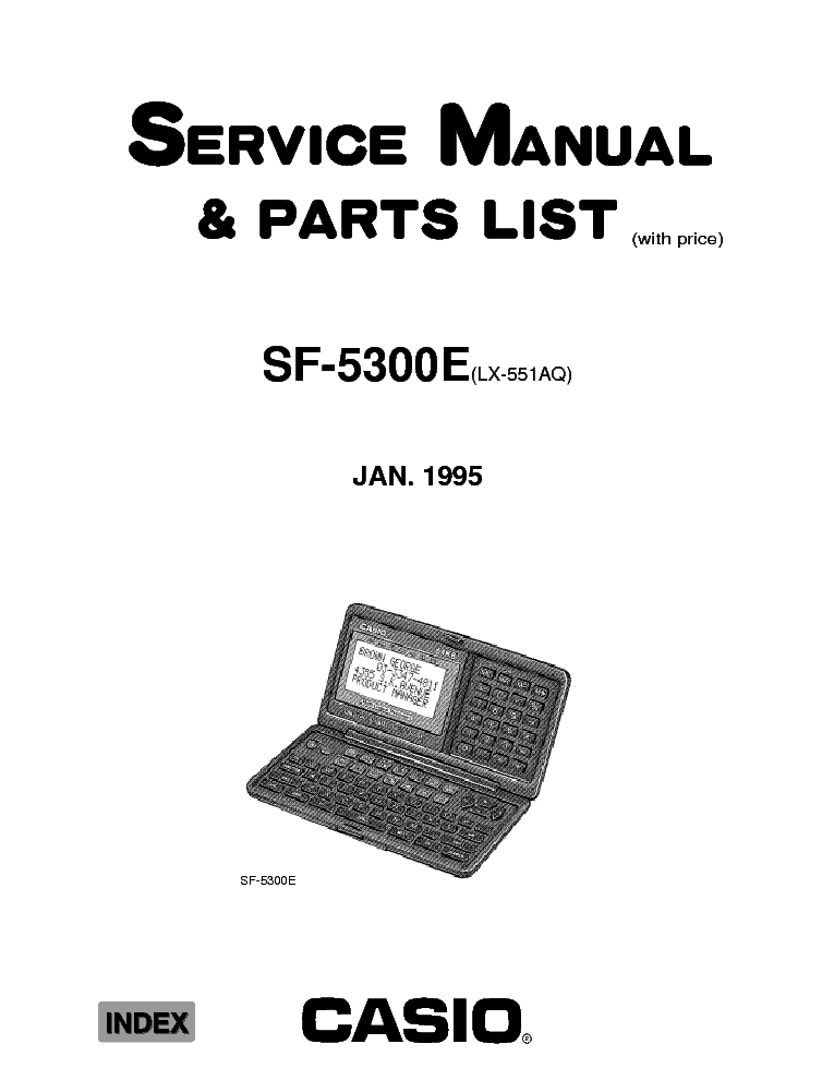 CASIO CTK 680 Service Manual free download, schematics