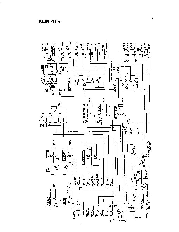KORG KPR-77 SCH Service Manual download, schematics
