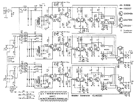 KORG PE-2000 SYNTHESIZER SCH Service Manual download