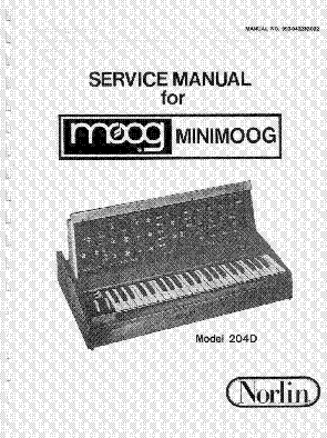 MOOG TAURUS MODEL 205A OWNERS SM Service Manual download