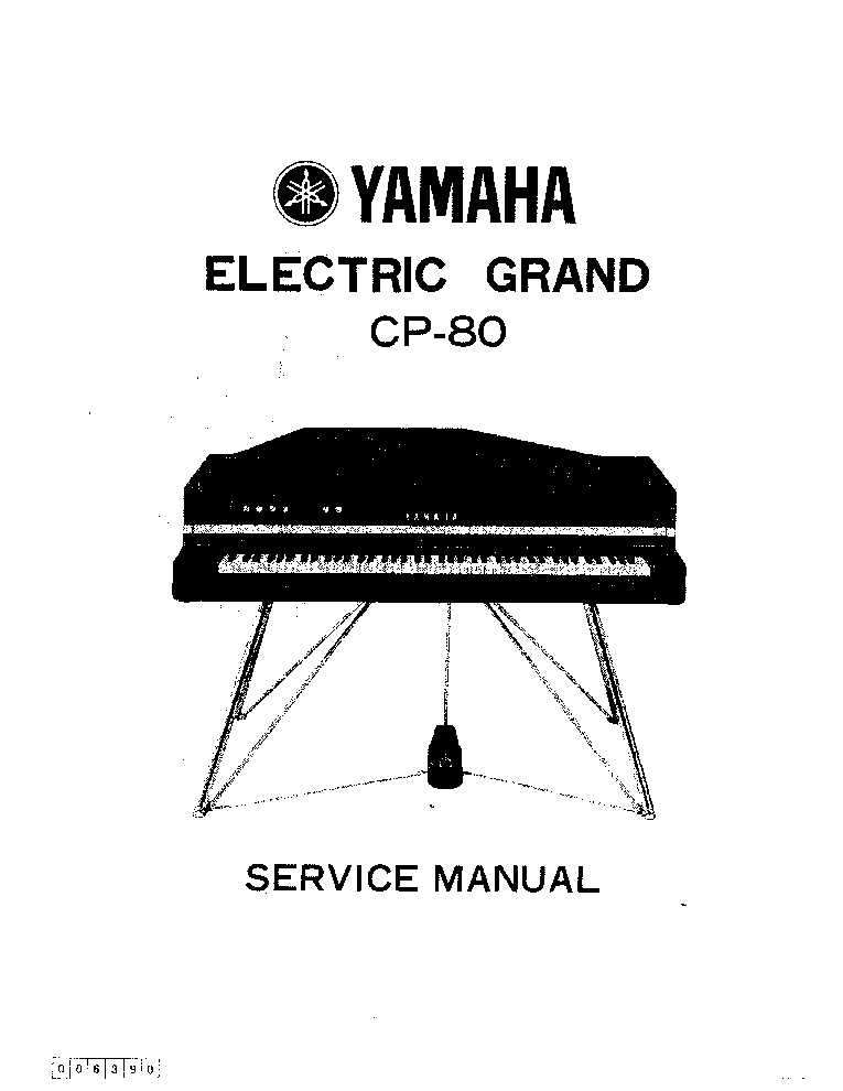 YAMAHA PSR-225 Service Manual download, schematics, eeprom