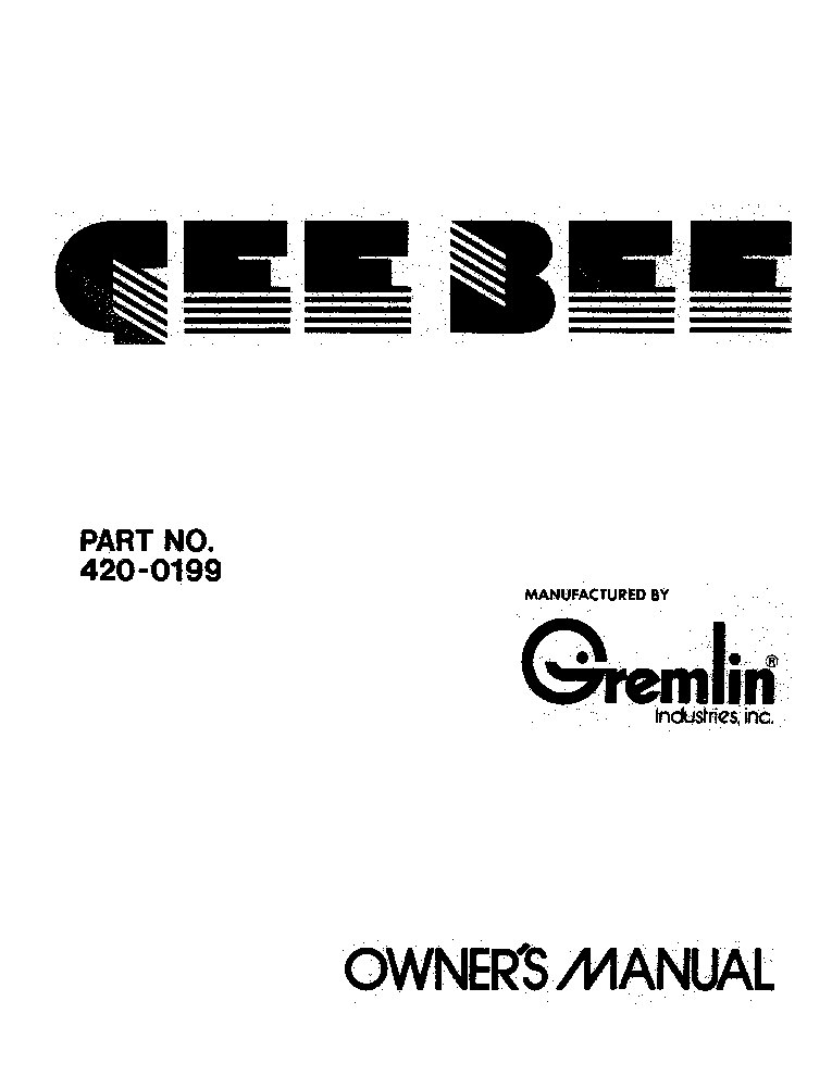 GREMLIN STAR-TREK Service Manual download, schematics