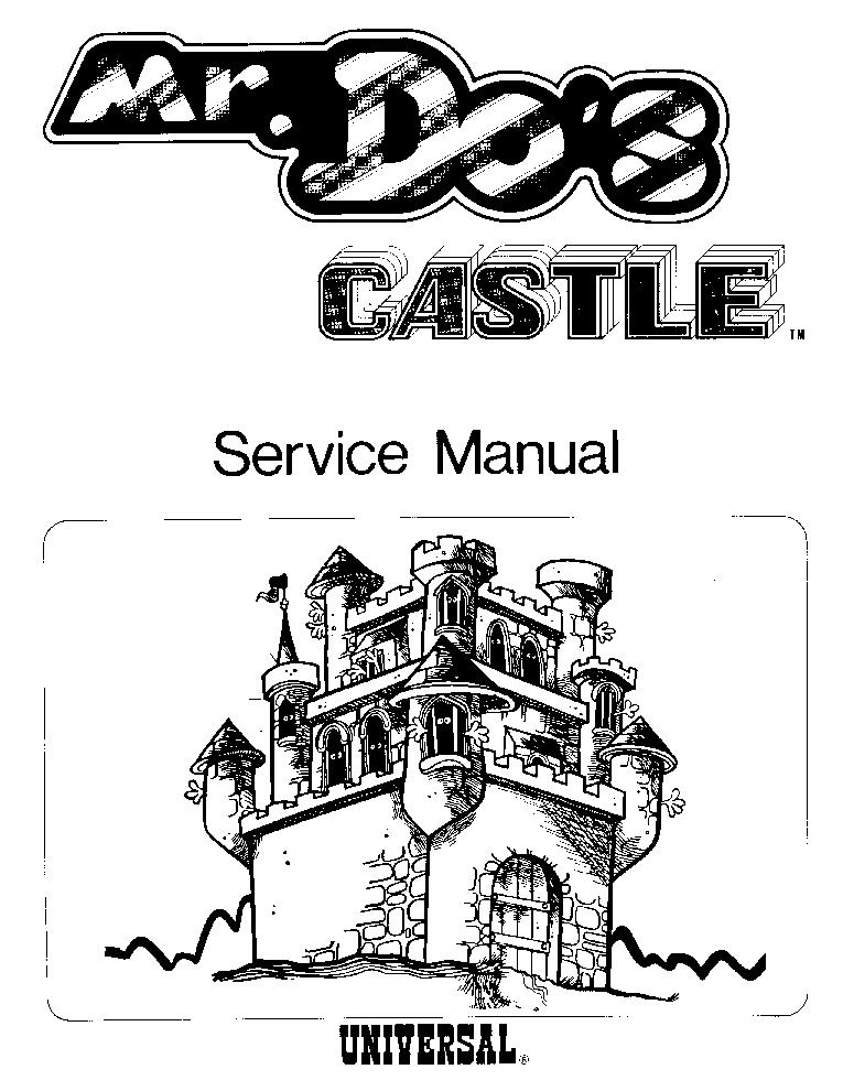 UNIVERSAL SPACE-PANIC Service Manual download, schematics