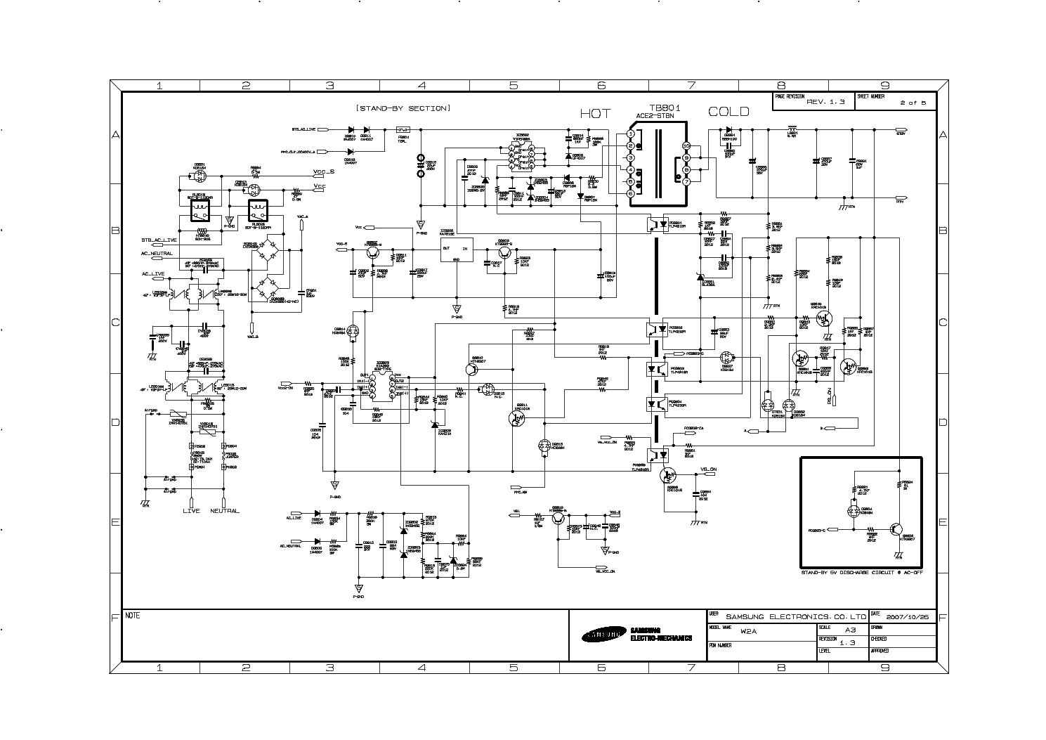 SAMSUNG BN44-00162A Service Manual download, schematics