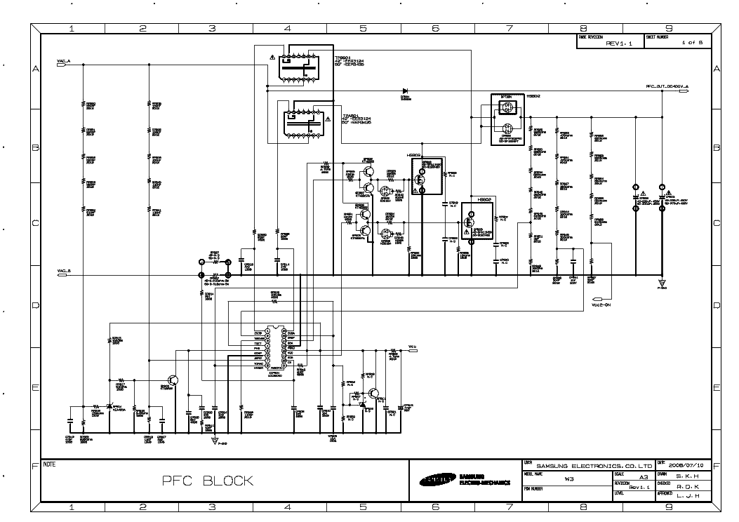 SAMSUNG BN44-00206A Service Manual download, schematics