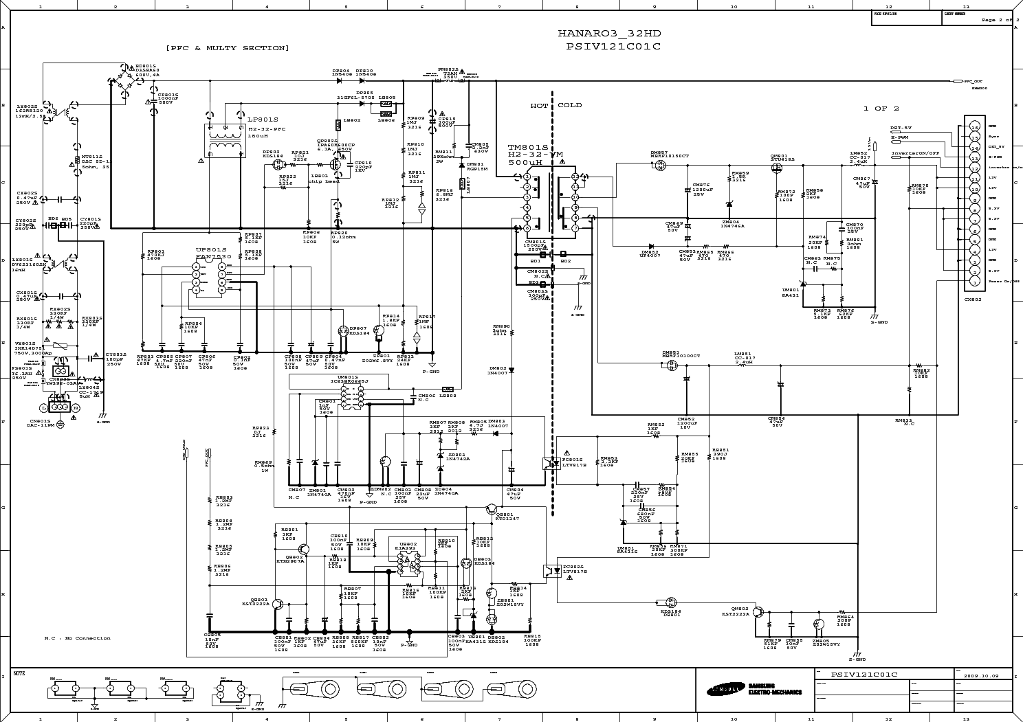 SAMSUNG BN44-00289B Service Manual download, schematics