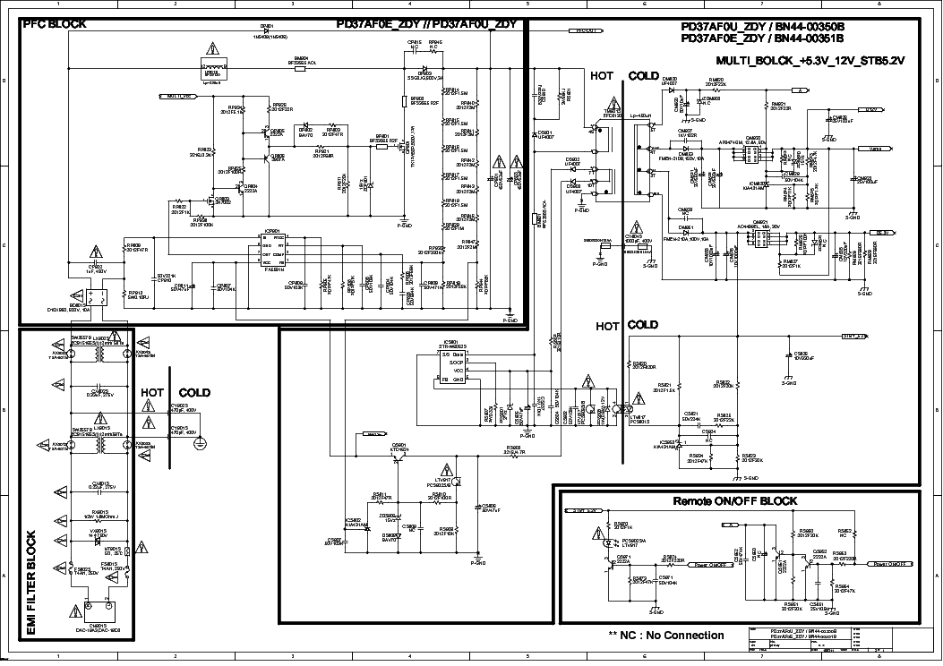 SAMSUNG BN44-00351B Service Manual download, schematics