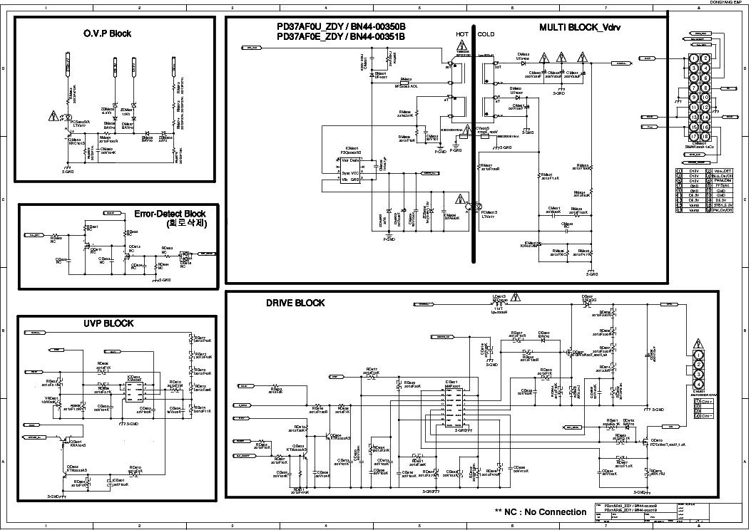 SAMSUNG BN44-00351B Service Manual download, schematics