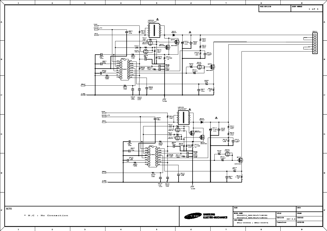 SAMSUNG BN44-00357A Service Manual download, schematics