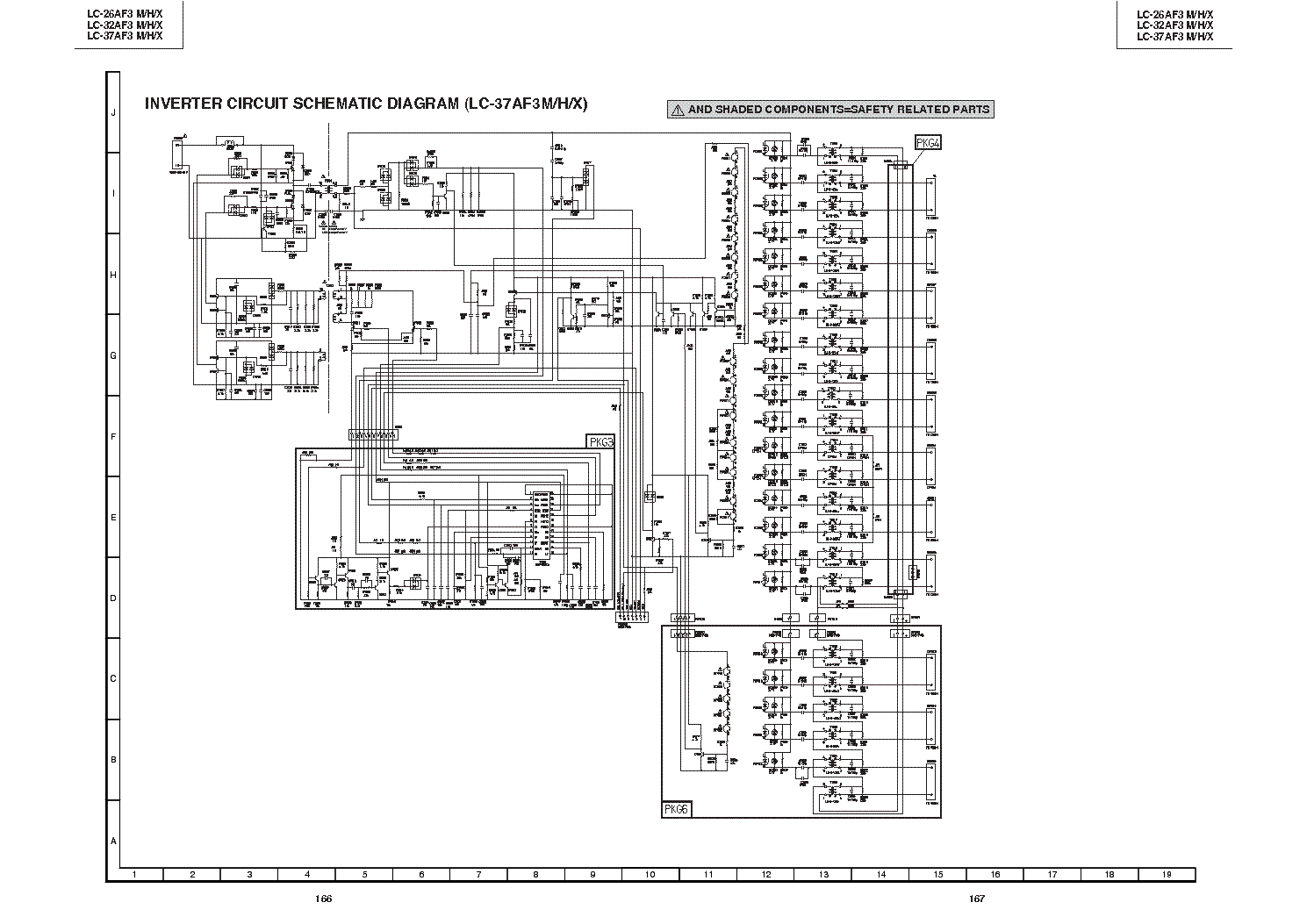 SHARP UX-45 UX-67 Service Manual download, schematics