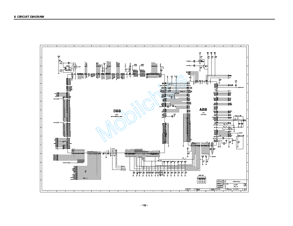 LG F1200 Service Manual download, schematics, eeprom